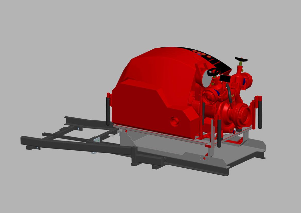Kofler-Fahrzeugbau-Halterungen