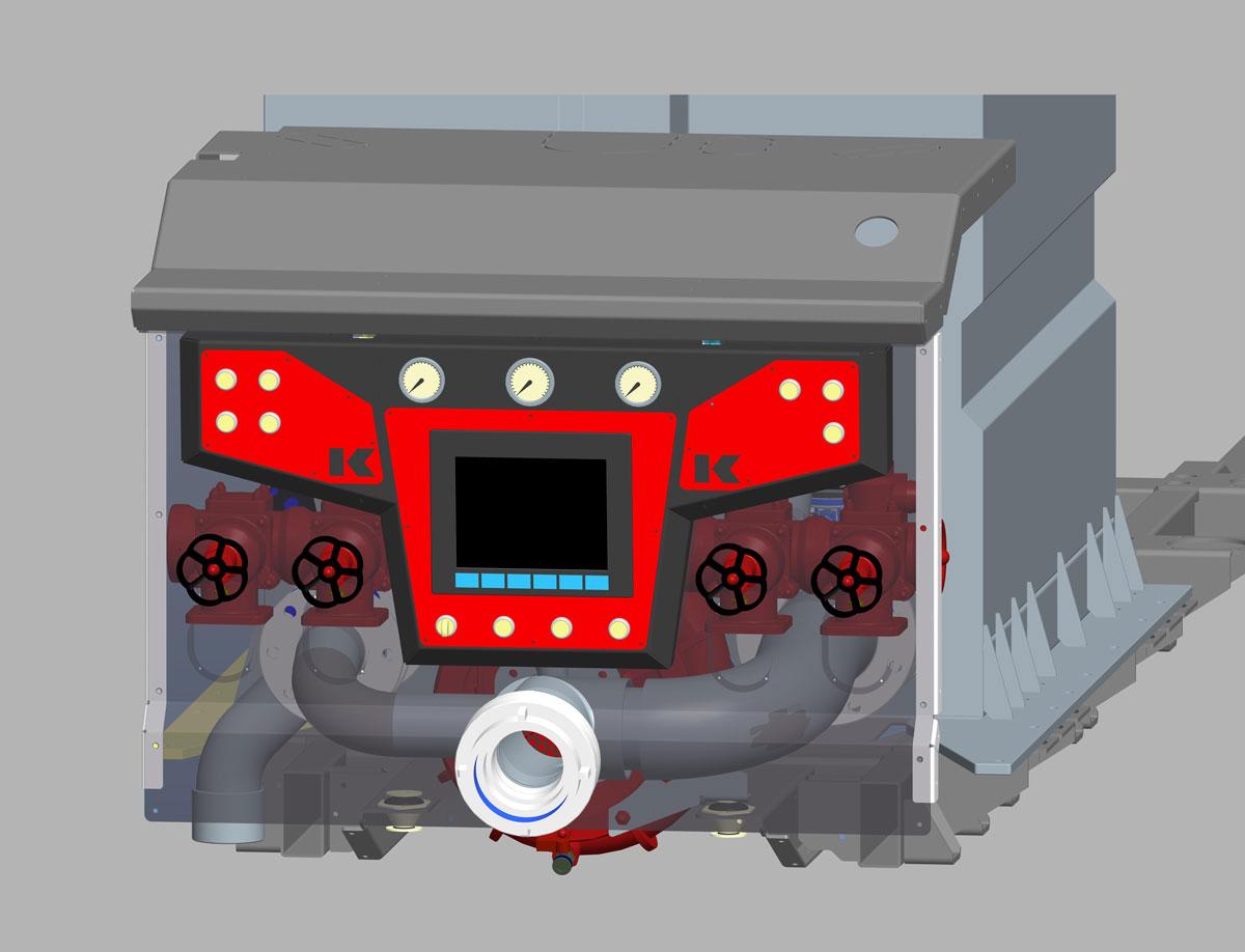 Kofler-Fahrzeugbau-Pumpensteuerung