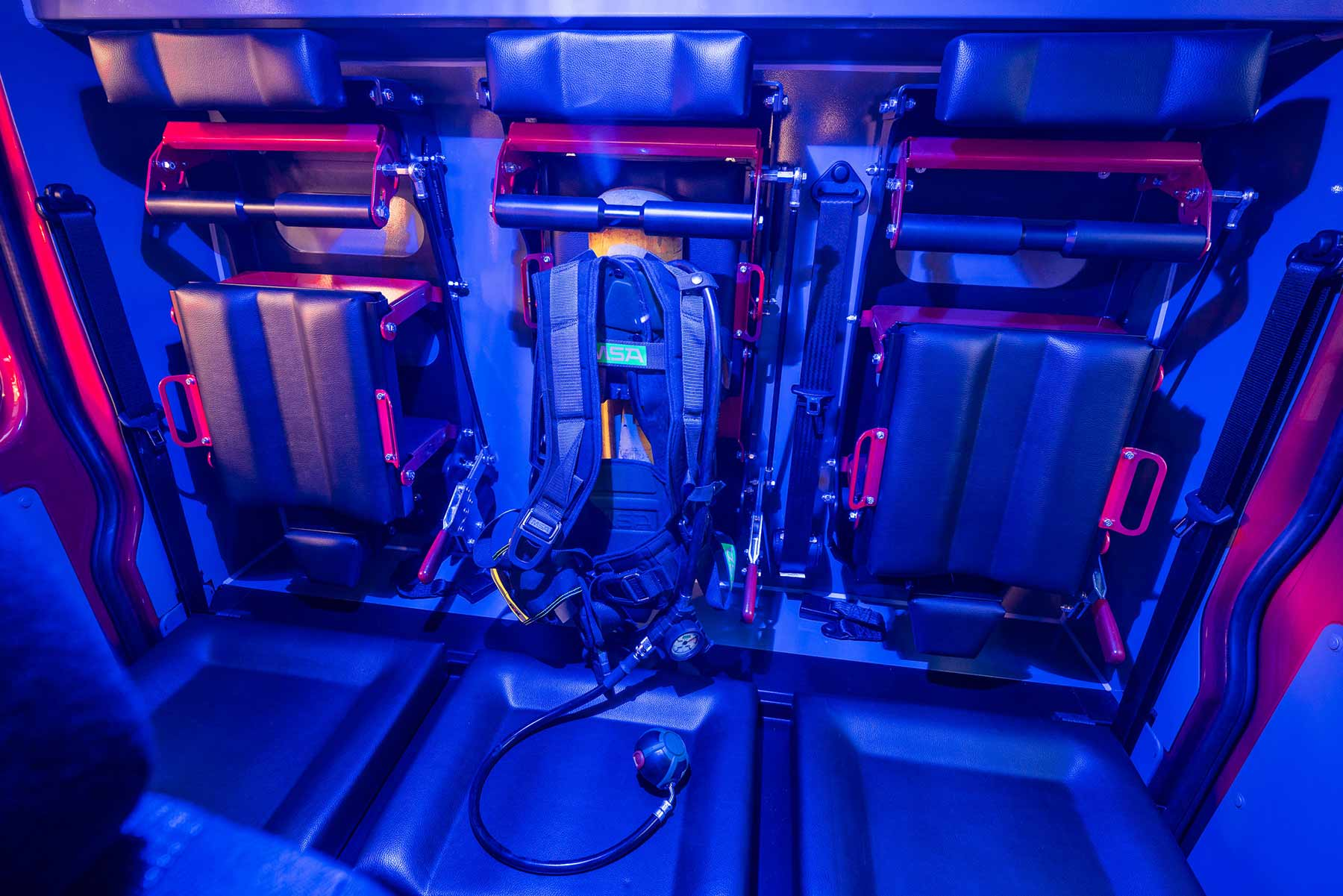 Kofler-Fahrzeugbau-Atemschutz-Integration