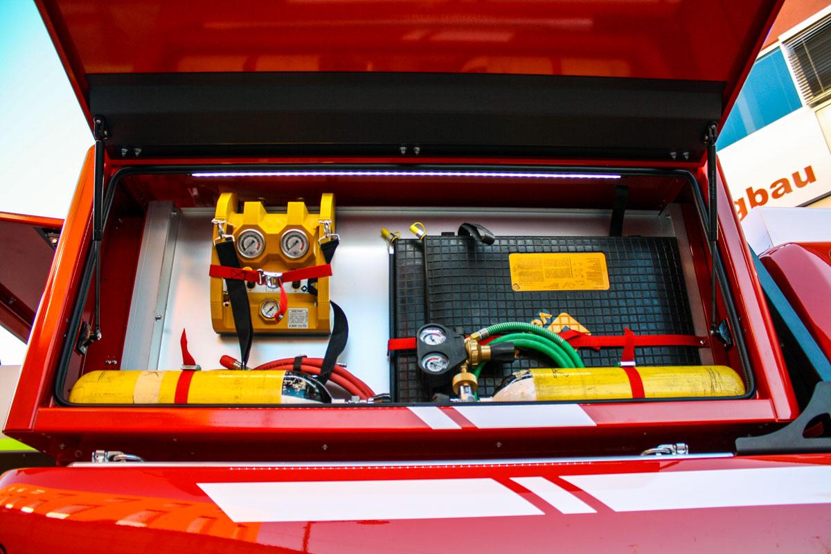 Kofler Fahrzeugbau FF Rodeneck PickUp Amarok Feuerwehrfahrzeug