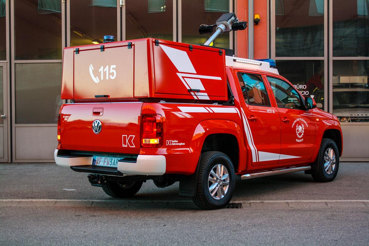 Kofler Fahrzeugbau FF Rodeneck PickUp Amarok Feuerwehr Feuerwehrfahrzeug