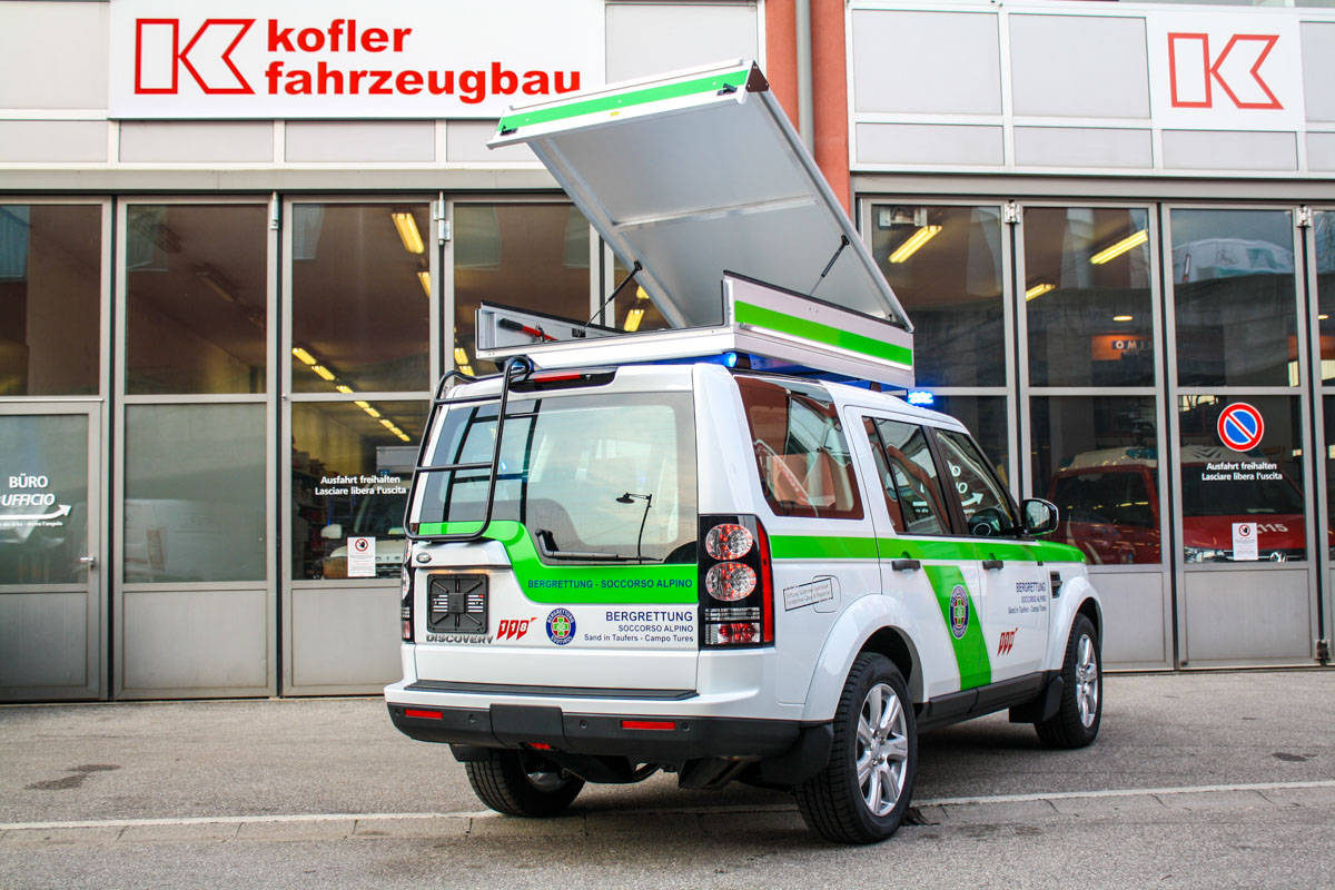 BRD Sand in Taufers Kofler Fahrzeugbau