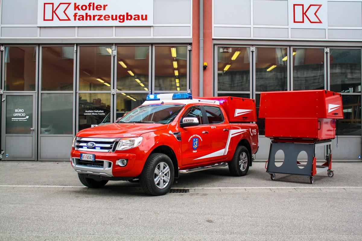Kofler Fahrzeugbau FF Graun Kurtatsch Ranger