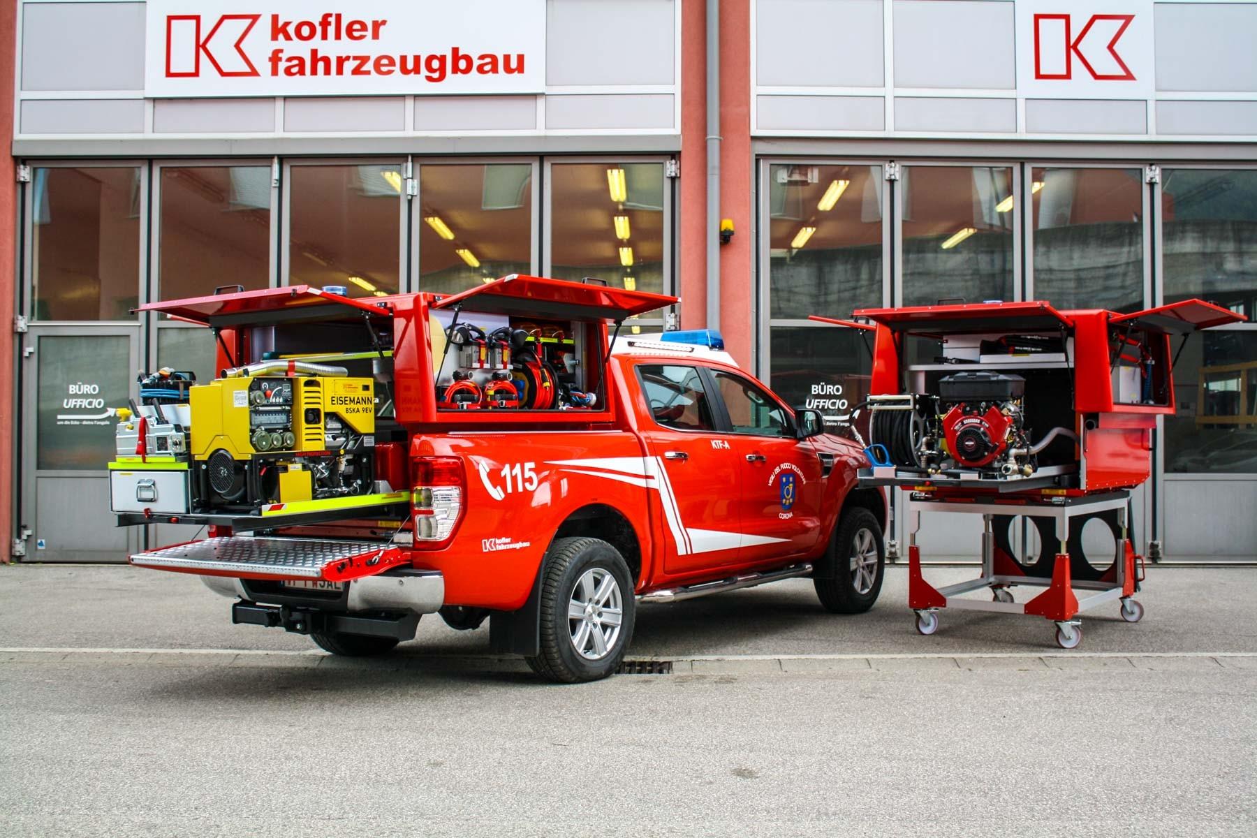 FF Graun Kurtatsch Kofler Fahrzeugbau
