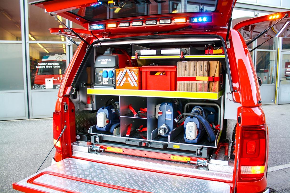 FF Vahrn Amarok Feuerwehrfahrzeug Kofler Fahrzeugbau