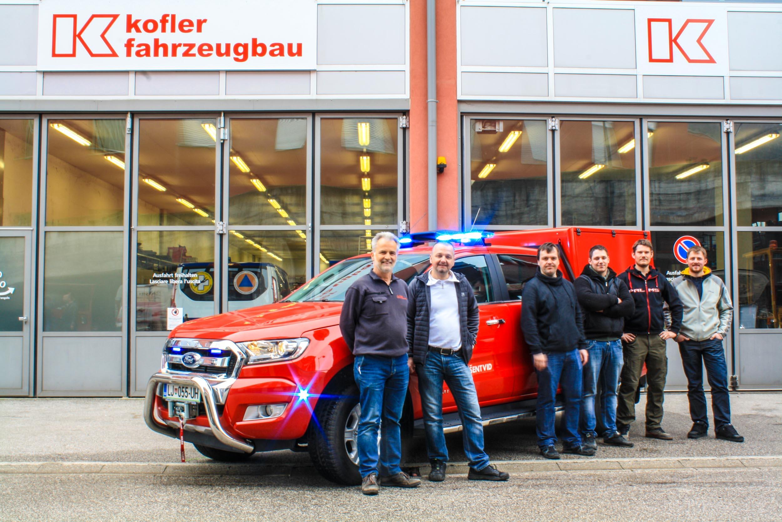 PGD Ljubljana -Šentvid-Kofler-Fahrzeugbau