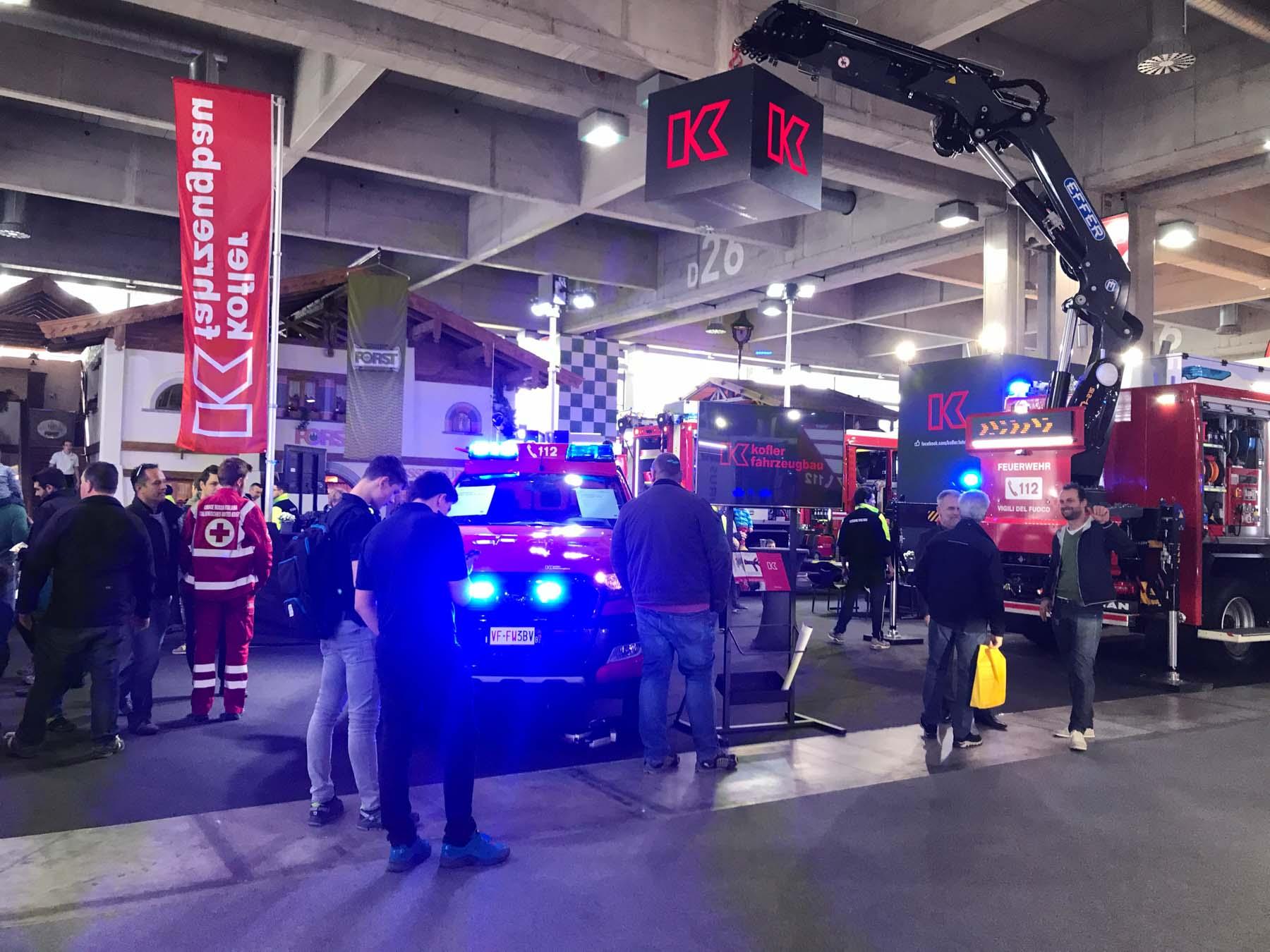 Kofler Fahrzeugbau Messe Civil-Protect 2018
