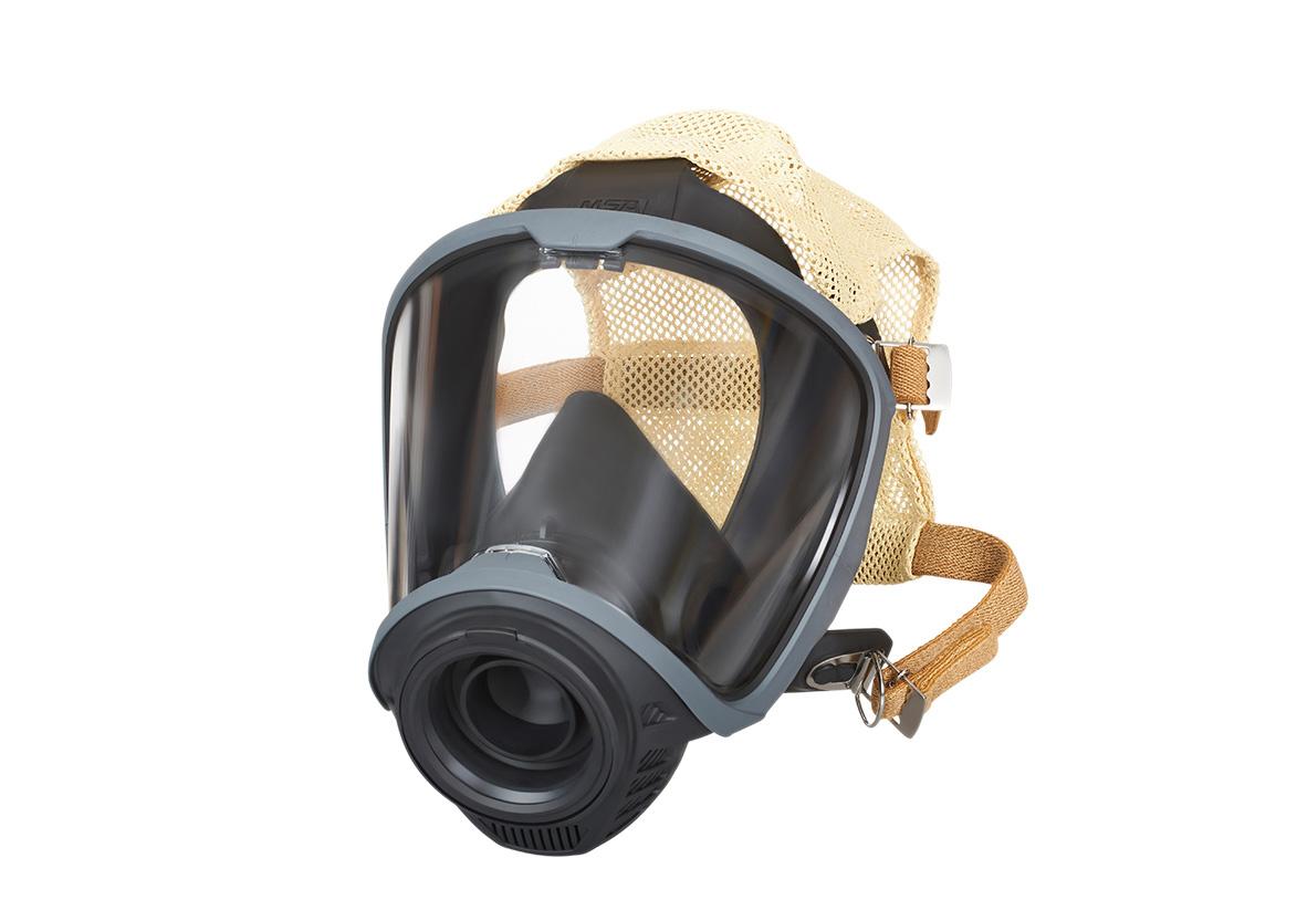 Kofler Fahrzeugbau MSA G1 Maske mit Netzbänderung